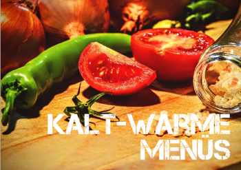Kalt-Warme Menüs